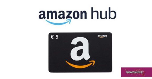 Amazon HUB ti regala 5€