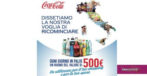 """Coca-Cola: """"Dissetiamo la nostra voglia di ricominciare"""""""