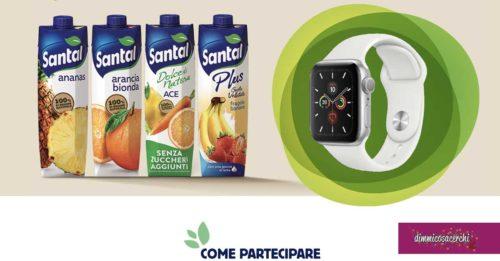 Concorso Santal: vinci Apple Watch Series 5