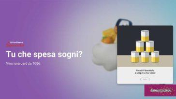 Vinci MyGiftCard Square Supermarket da 100€ con liveFAST