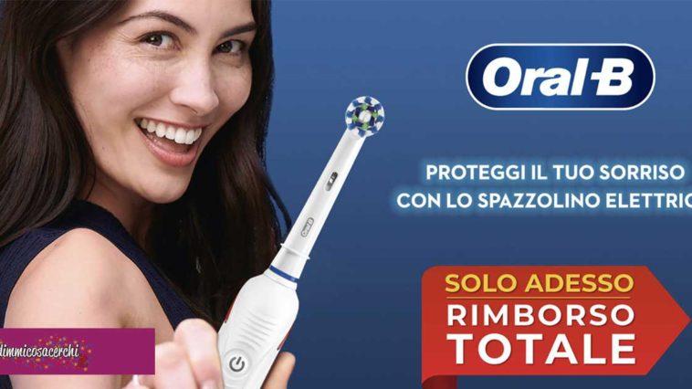 "Oral-b ""Rimborso totale"""