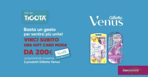 Vinci con Gillette Venus