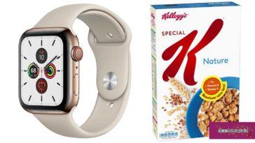 Vinci subito Smart Watch con Kellogg's