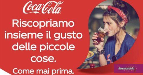 Coca-Cola: ripartiamo insieme, vinci e regala