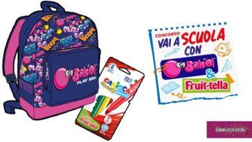 Concorso Big Babol 2020: vinci ogni ora zaini Seven e pennarelli Carioca