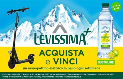 """Concorso """"Levissima+ e Autogrill"""""""