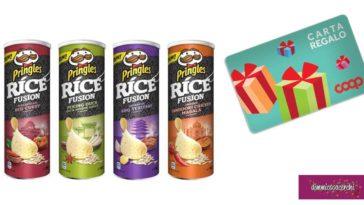 Gioca e vinci con Pringles Rice Fusion