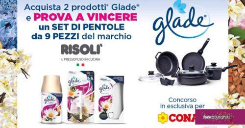 Glade: vinci set pentole Risolì