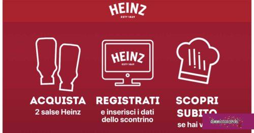 Heinz: vinci una cena con chef