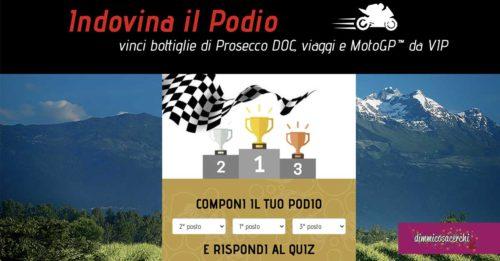 """Prosecco DOC """"Indovina il podio MotoGP"""""""
