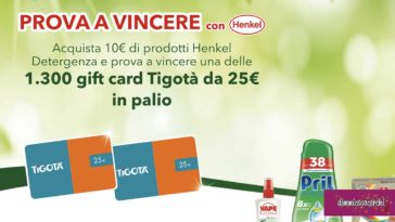 Prova a vincere con Henkel (agosto 2020)