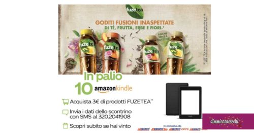 Vinci Amazon Kindle con Coca-Cola e Dimar