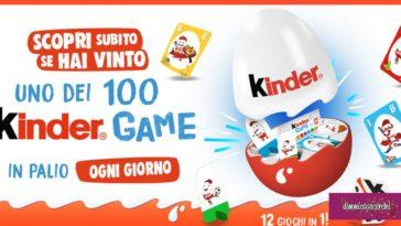 Concorso Kinder Game