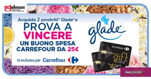 Concorso Glade e Carrefour
