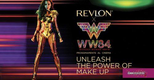 Concorso Revlon: vinci buono cinema per Wonder Woman 1984