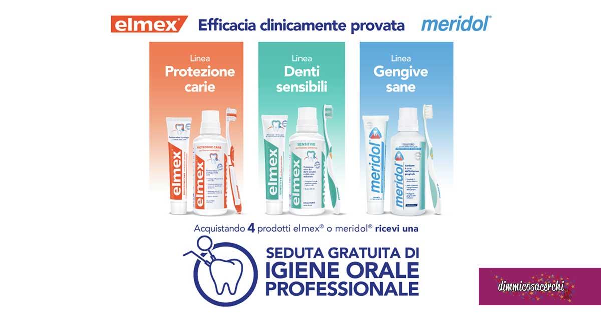 Elmex e meridol regalano una pulizia dentale