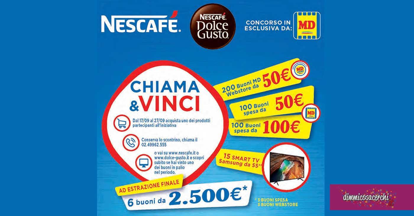 """Nescafè """"Chiama e Vinci"""""""