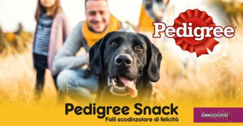 Pedigree Snack: diventa tester