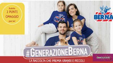 """Raccolta punti """"Generazione Berna"""""""