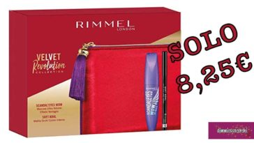 Rimmel London Confezione Regalo Velvet Revolution Collection