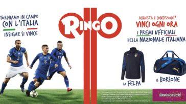 Ringo: vinci premi della nazionale italiana