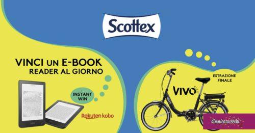Scottex: vinci e-book e bicicletta Vivo Bike