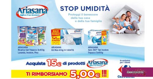 Spendi&Riprendi con Ariasana in Carrefour