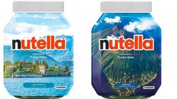 "Vasetti Nutella ""Ti amo Italia"""