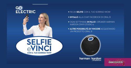 Vinci con il Selfie Oral-B