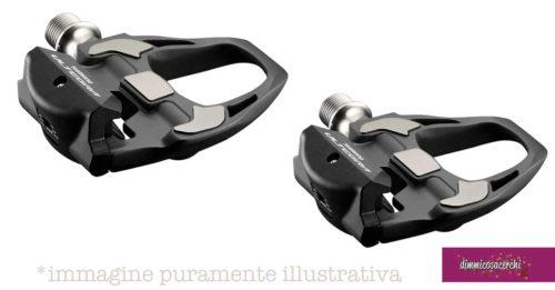 Vinci i pedali Dura-Ace
