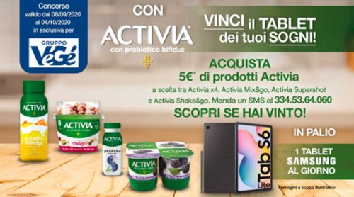 Vinci tablet Activia
