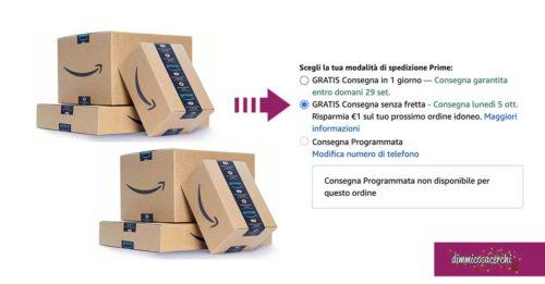 """Amazon """"Consegna Senza Fretta"""""""