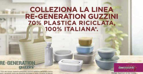 raccolta bollini Re-Generation Guzzini
