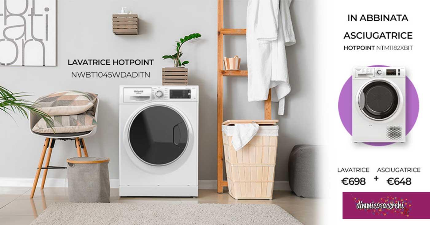 Unieuro Passione Casa: l'asciugatrice è in regalo