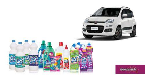 Con Ace puoi vincere un'elegante auto: in palio FIAT PANDA Hybrid EASY