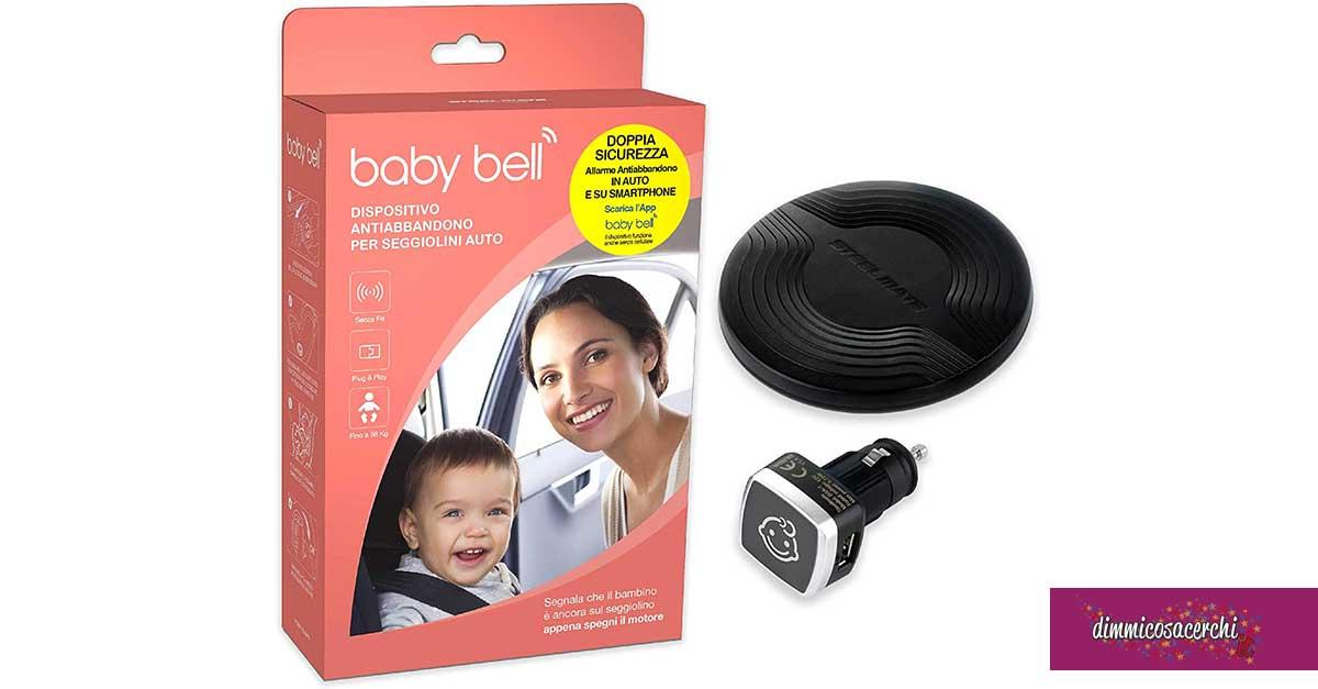 vinci dispositivi antiabbandono Baby Bell