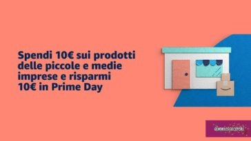 Amazon: 10€ omaggio spendendo 10€