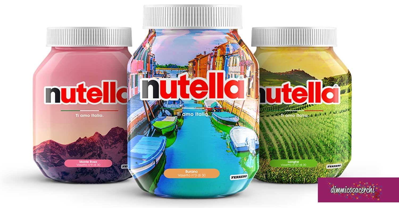 """Concorso Nutella """"Ti Amo Italia"""""""