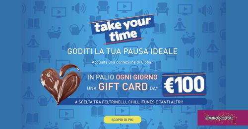 "Concorso Cameo ""Take Your Time"""