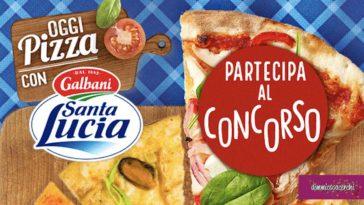 """Concorso """"Oggi pizza con Santa Lucia"""""""