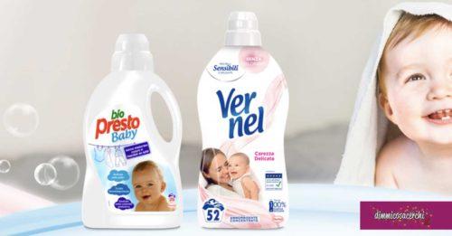 Diventa tester Bio Presto Baby e Vernel Carezza Delicata