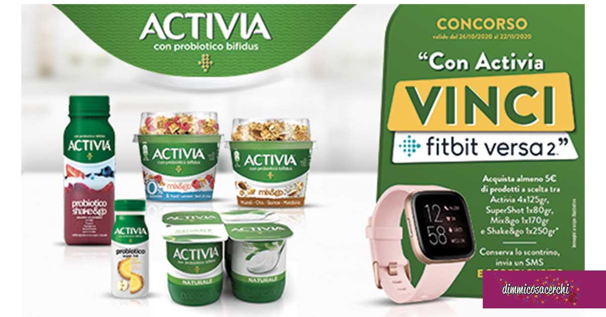 Vinci Fitbit Versa 2 con Activia