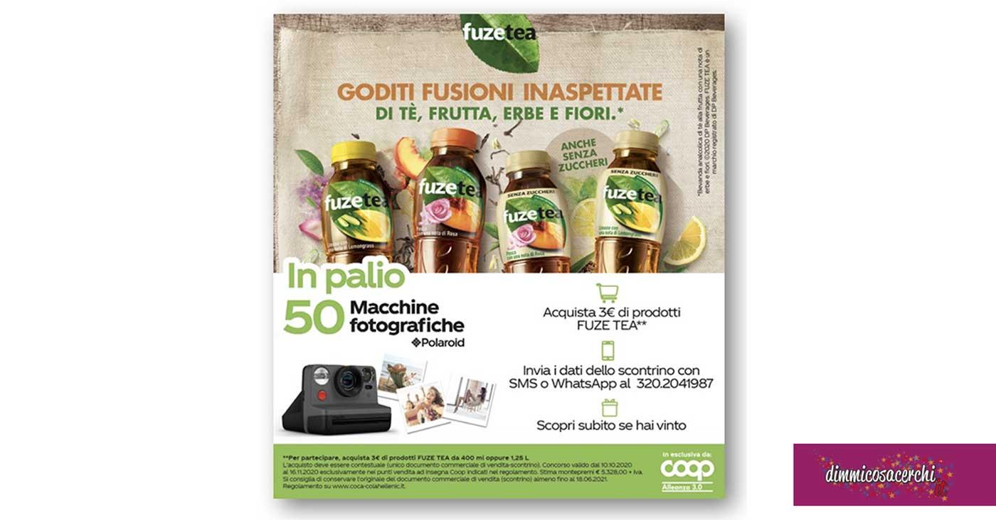 Vinci macchine fotografiche Polaroid con FUZETEA
