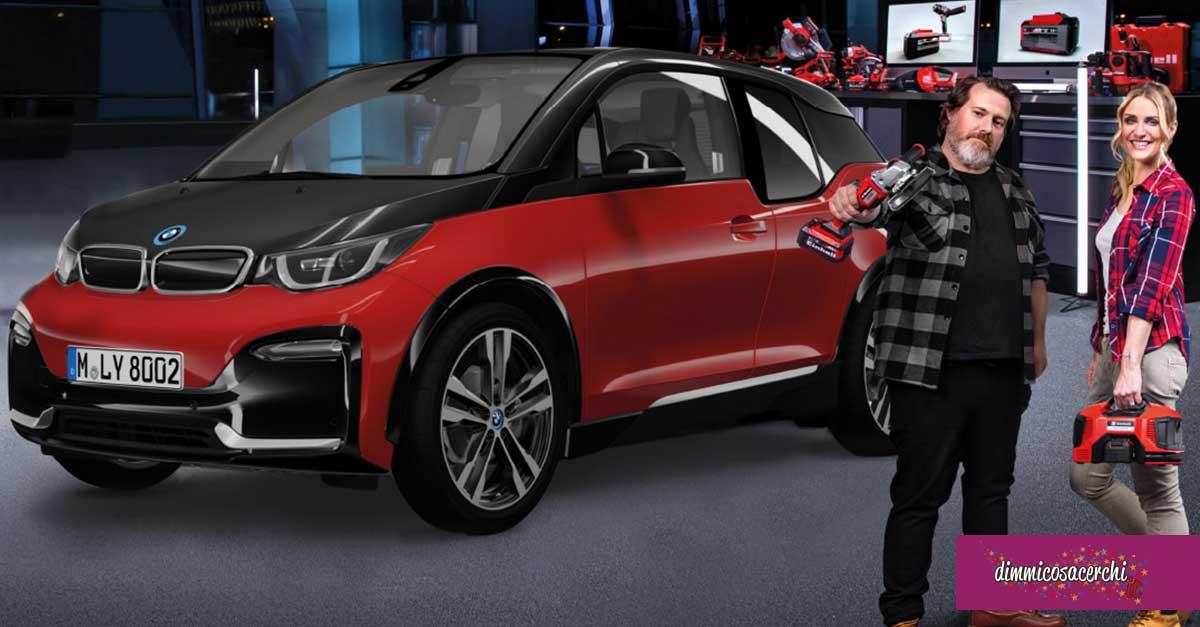 Vinci una BMW i3 nuova con Einhell