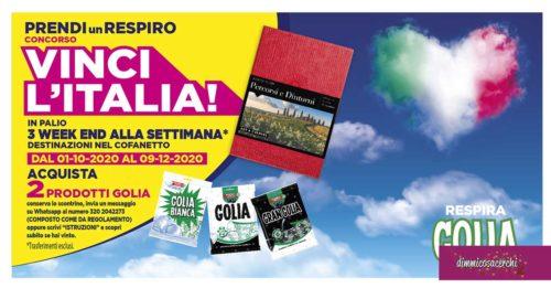 """Concorso Golia """"Vinci l'Italia"""""""