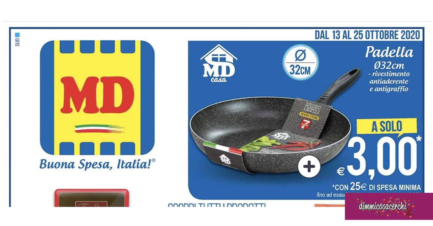 md padella tre euro