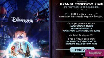 Concorso Kiabi: vinci weekend a Disneyland Paris