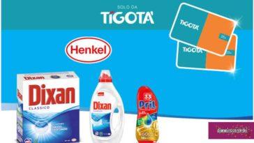 Henkel e Tigotà: vinci buoni spesa