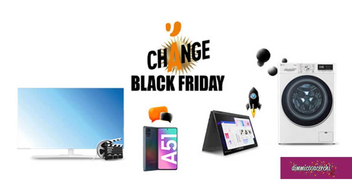 """Unieuro """"Change Black Friday"""""""