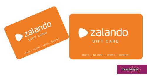 Vinci gift card Zalando con Fastweb
